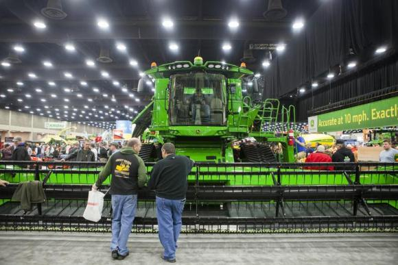 National Farm Machinery Show Championship Tractor Pull at Freedom Hall